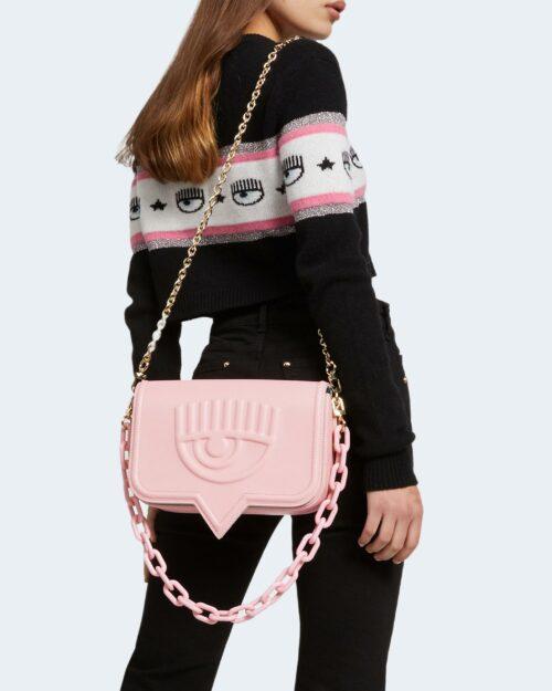 Borsa Chiara Ferragni BAGS PATENT Rosa – 79072