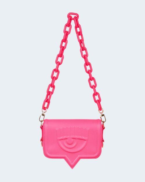 Borsa Chiara Ferragni BAGS PATENT Rosa Fluo – 79072