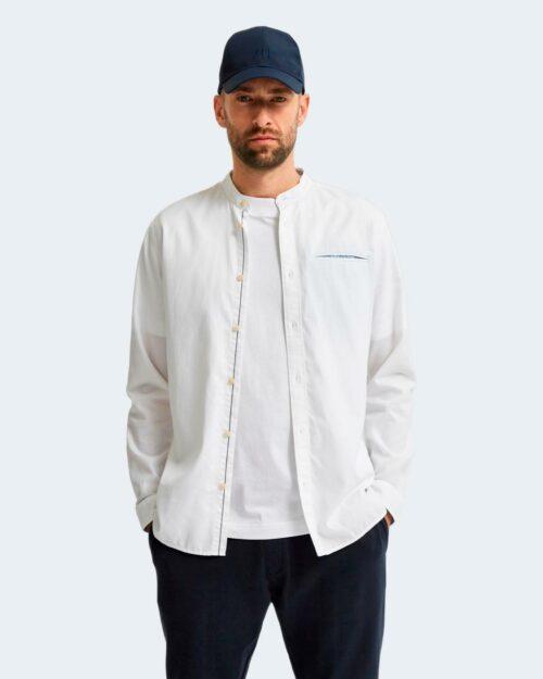Camicia manica lunga Selected SLIM TEXAS Bianco – 77741