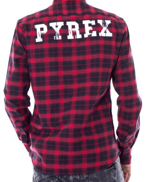 Camicia manica lunga Pyrex 33069 Rosso – 10366