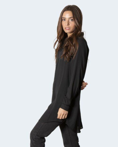 Camicia manica lunga Vila Clothes Lucy BUtton Nero – 40531