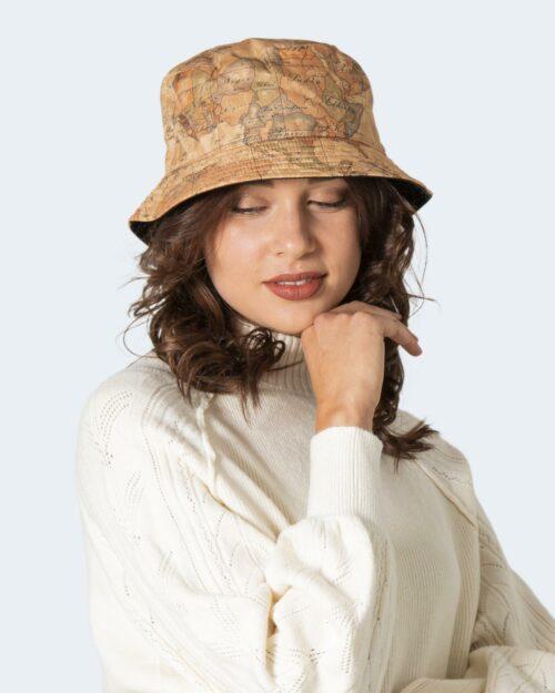Cappello con visiera Alviero Martini Prima Classe CLOCHE HAT GEO Beige – 78669