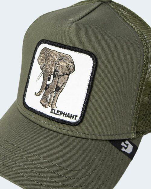 Cappello con visiera Goorin Bros ELEFANTE Verde Oliva – 71314