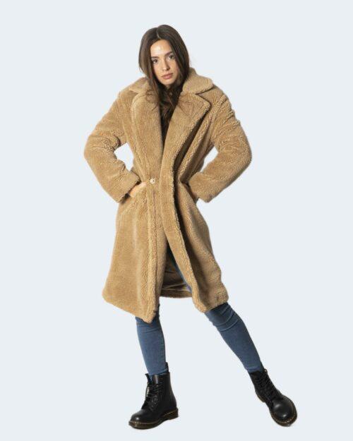 Cappotto Only ONLEVELIN LONG TEDDY COAT CC OTW – 15230231 Beige – 71870