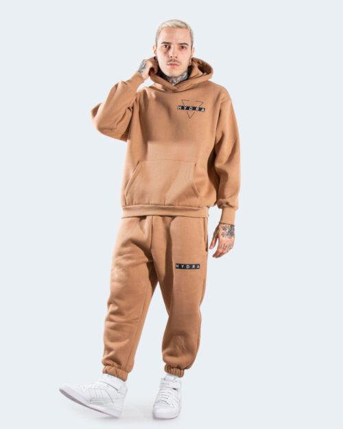 Tuta Hydra Clothing CON CAPPUCCIO Beige scuro – 77831