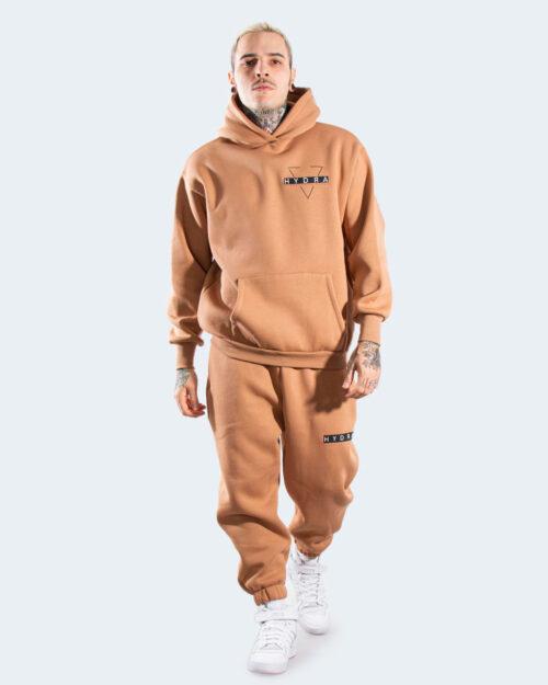 Tuta Hydra Clothing CON CAPPUCCIO Marrone – 77831