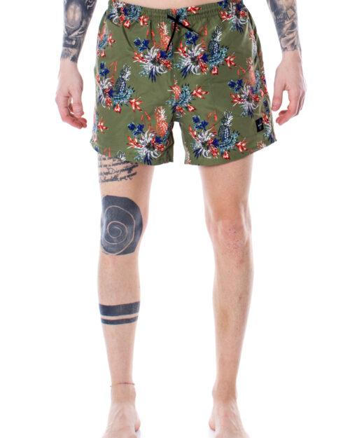 Costume da bagno Only & Sons Tan Swimshorts Aop NT 2471 Verde – 29017