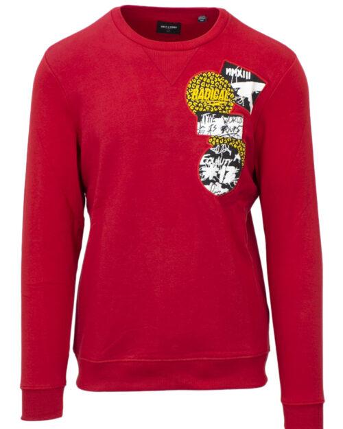 Felpa senza cappuccio Only & Sons WESTIN CREW NECK SWEAT Rosso – 22313