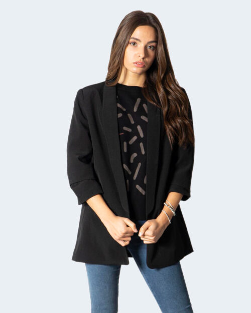 Giacca Only ONLELLY 3/4 LIFE BLAZER TLR NOOS Nero – 80190