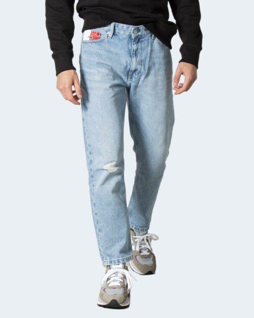 Jeans Tapered Tommy Hilfiger DAD JEAN REG Denim chiaro – 72188