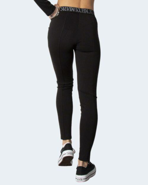 Leggings Calvin Klein MILANO LOGO Nero – 71938