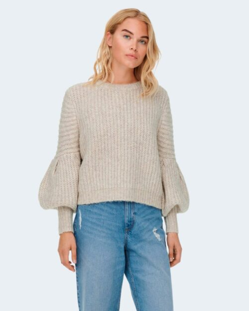 Maglione Only ONLSCALA L/S Beige – 71805