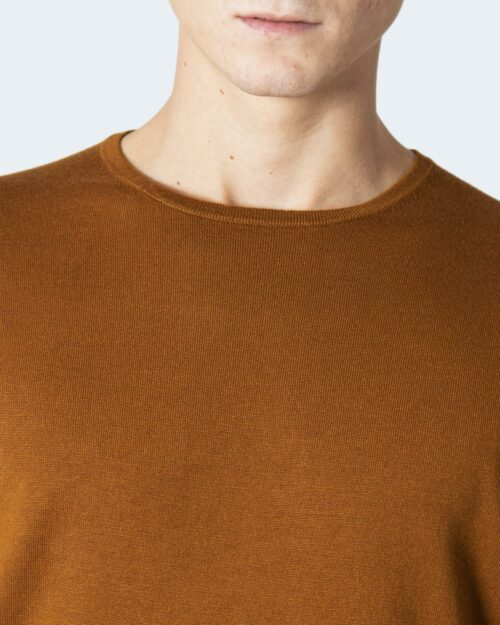 Maglia Only & Sons ONSWYLER LIFE LS CREW KNIT NOOS Marrone – 78385