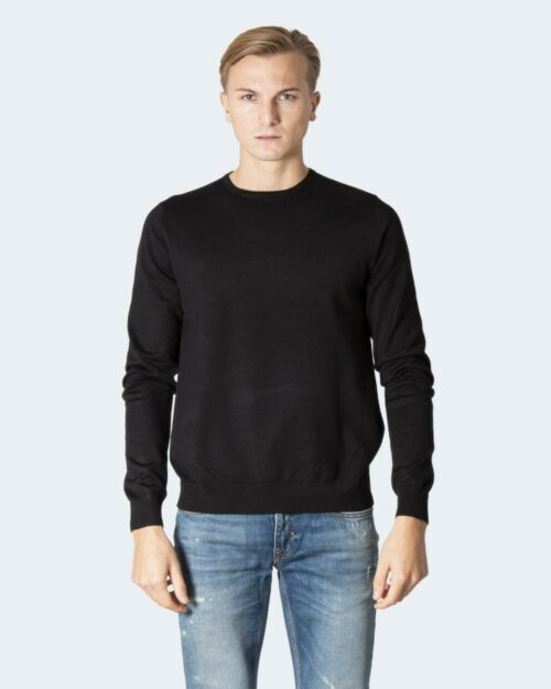Maglia Only & Sons ONSWYLER LIFE LS CREW KNIT NOOS Nero – 78385
