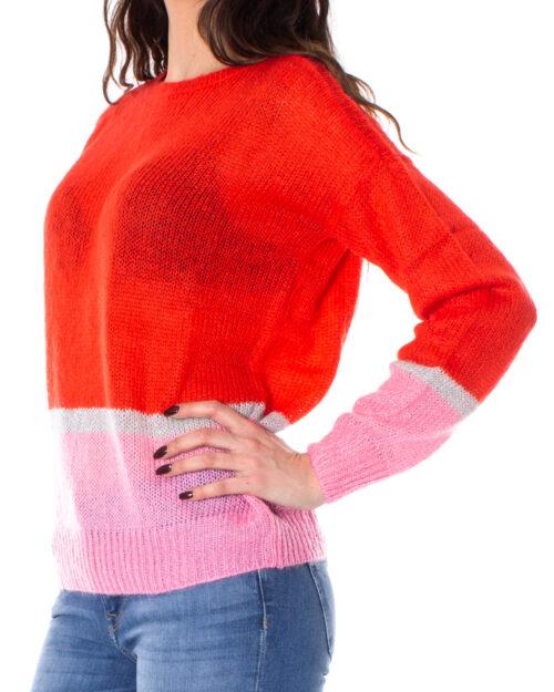 Maglione Jacqueline De Yong ADDISON L/S PULLOVER KNT Rosso – 28138
