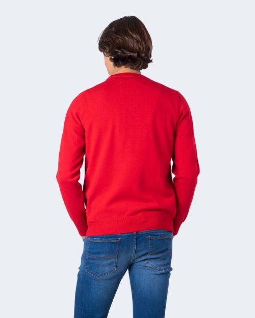 Maglione Love Moschino LOGO CORSIVO Rosso – 59956