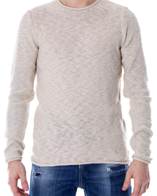 Maglione Only & Sons JAY SLUB CREW NECK EXP Beige – 11934