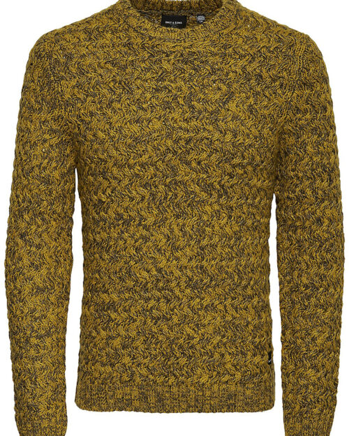 Maglione Only & Sons ODIN 7 MEL CAB CREW NECK KNIT Giallo – 23050