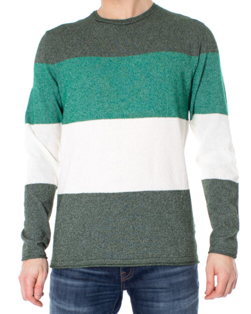 Maglione Only & Sons TED 12 MULTI KNIT Verde Scuro – 27821