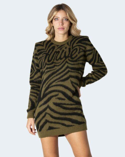 Vestito corto Aniye By DRESS WAVES Verde Oliva – 79068