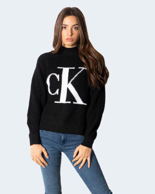 Maglione Calvin Klein CK RAGLAN SWEATER J20J216595 Nero – 71940