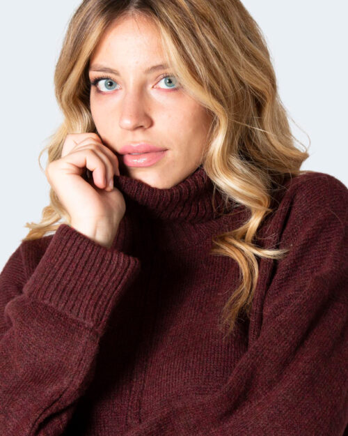 Maglione Only ONLTATIANA Bordeaux – 71814