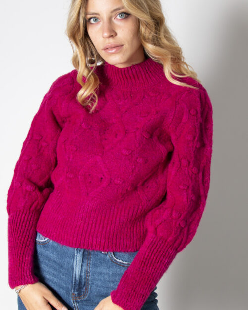 Maglione Only ONLPOPPY Fuxia – 71813
