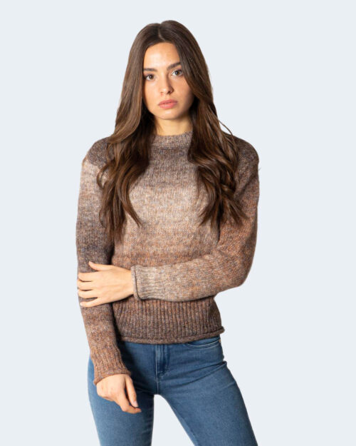 Maglione Only ONLGRACE LIFE L/S PULLOVER EX KNT – 15231323 Marrone – 71809
