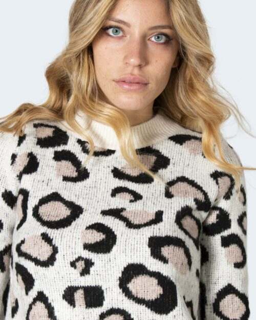 Maglione Only ONLLEO Panna – 71824