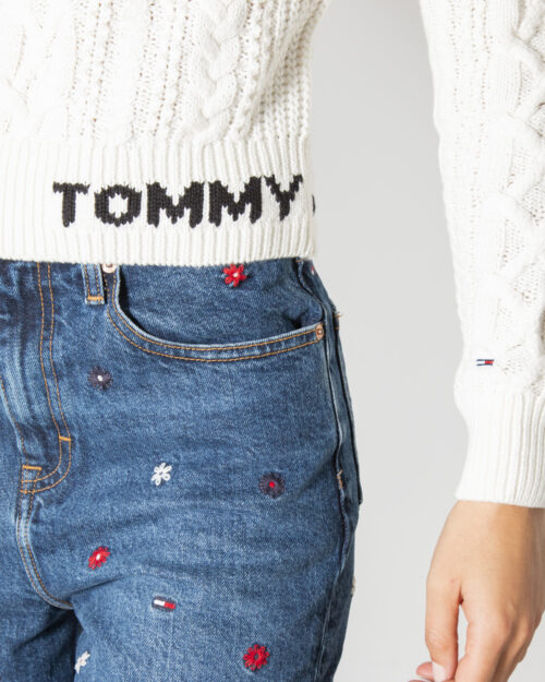 Maglione Tommy Hilfiger CABLE SWEATER Bianco – 72026