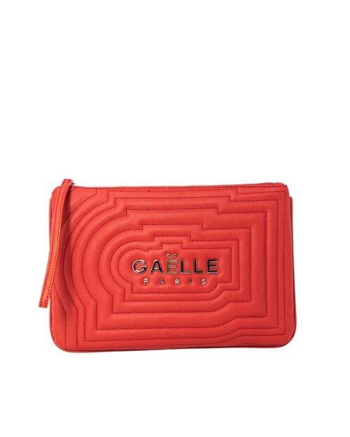 Borsa Gaelle Paris LOGO CENTRALE Rosso – 74524