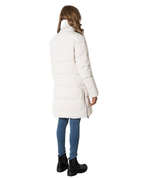 Piumino Woolrich QUILTED VAIL COAT Panna – 74551