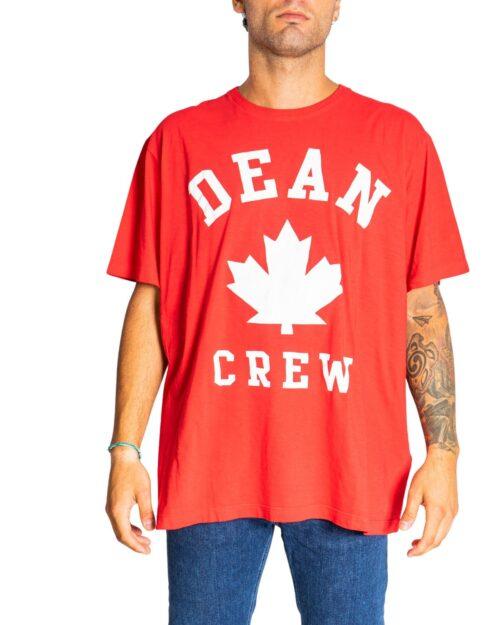 T-shirt Dsquared2 LOGO FOGLIA Rosso – 76703