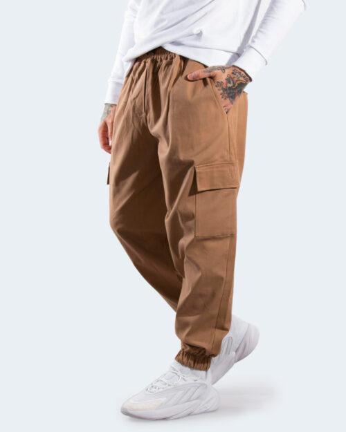 Pantaloni con cavallo basso Hydra Clothing CARGO Beige scuro – 77503