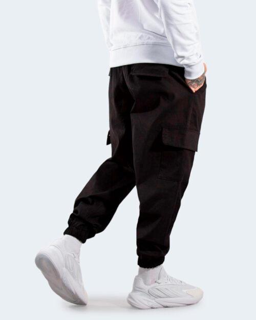Pantaloni con cavallo basso Hydra Clothing CARGO Nero – 77503