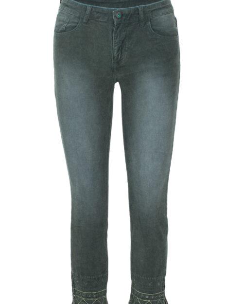 Pantaloni skinny Desigual PANT MANGATA Verde – 20520