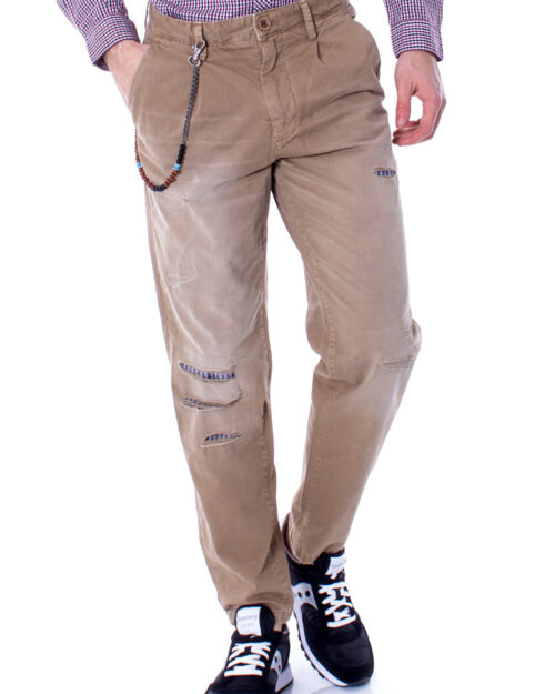 Pantaloni slim Jack Jones ACE MILTON JOS 420 BEIGE LTD Beige – 28263