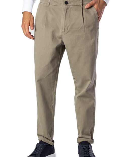 Pantaloni tapered Only & Sons Gavin Pants Cropped Tlr Beige – 30147
