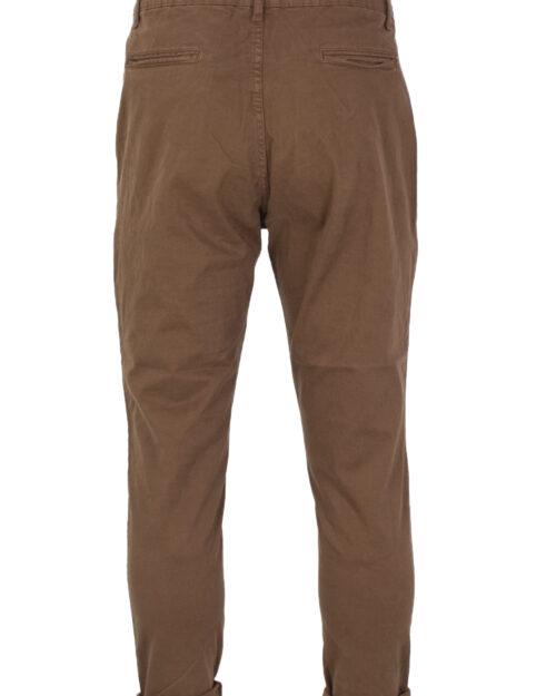 Pantaloni con cavallo basso Over-d PANTALONE AMERICA CON LACCIO Marrone – 22200