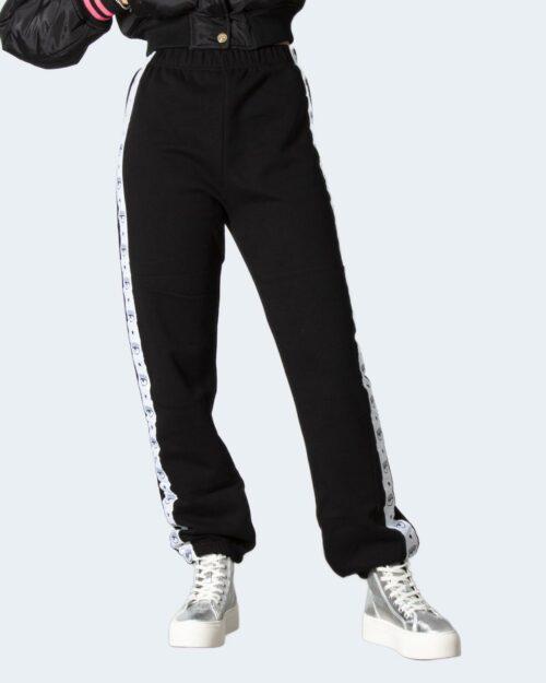 Pantaloni sportivi Chiara Ferragni 154 LOGOMANIA TAPE Nero – 78038
