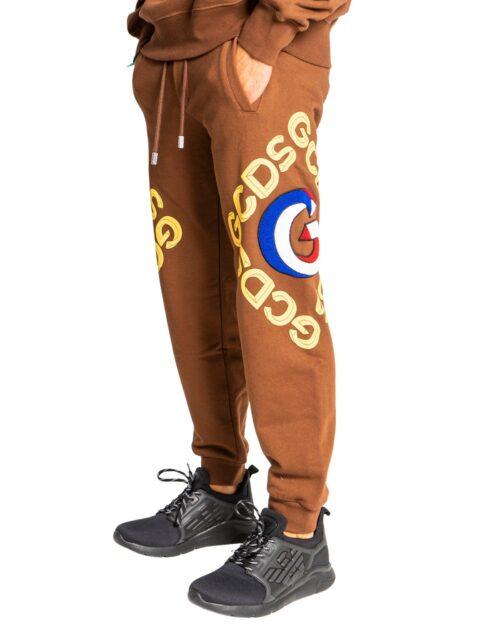 Pantaloni sportivi Gcds GOLD LOGO Marrone – 76672