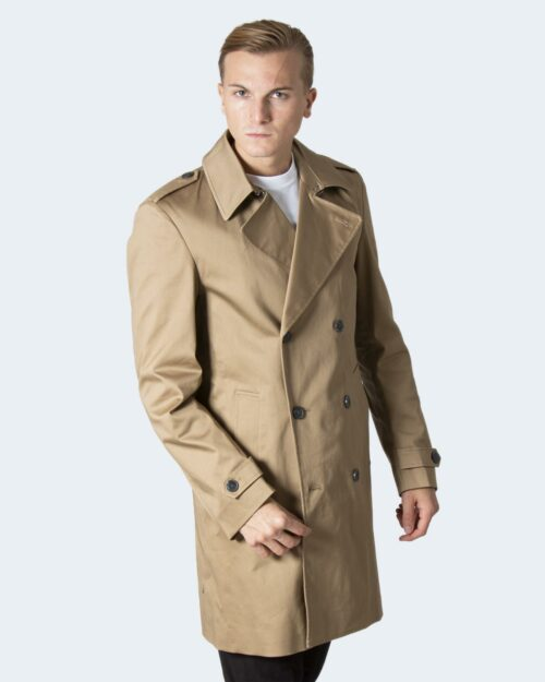 Parka Selected SLHSANDER DB COAT B Beige scuro – 78657