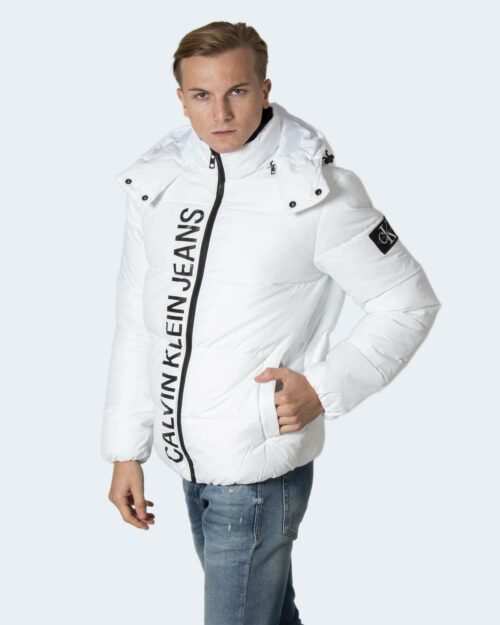 Piumino Calvin Klein ESSENTIALS NON DOWN J30J319057 Bianco – 71964