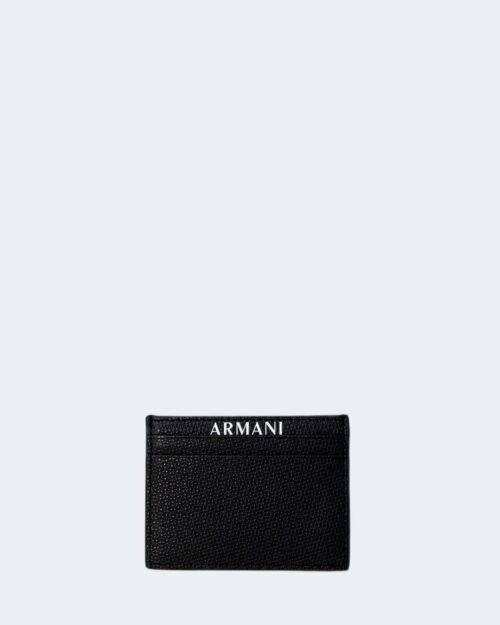 Portacarte Armani Exchange LOGO Nero – 80085