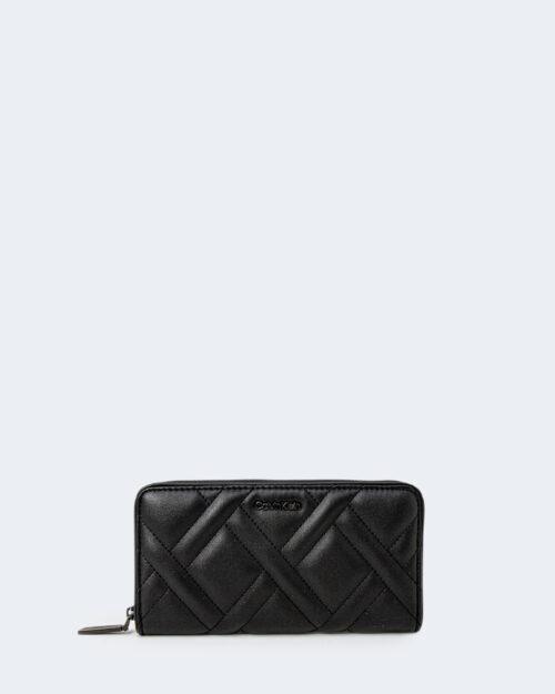 Portafoglio grande Calvin Klein QUILT Nero – 77796