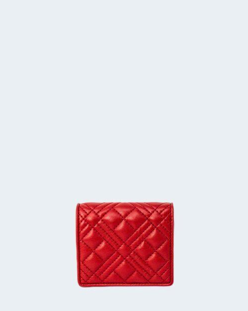 Portafoglio piccolo Love Moschino PLACCA CON LOGO Rosso – 78000