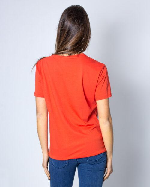 T-shirt Desigual Ts Namaste Arancione – 40057