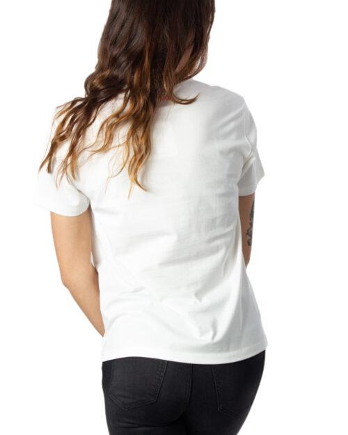 T-shirt Desigual Ts Love Your Self Bianco – 39661