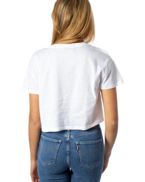 T-shirt Desigual TS SONAR CROP Bianco – 39416