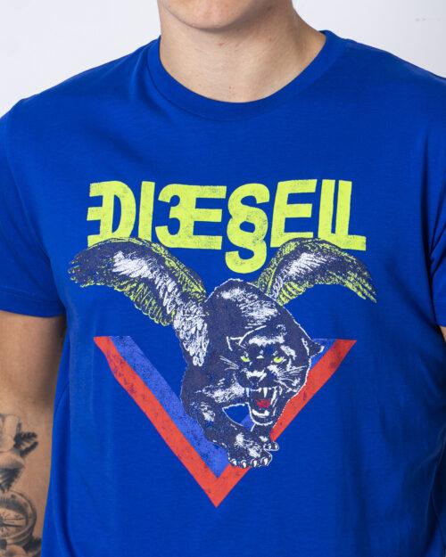 T-shirt Diesel T-DIEGO-A4 Azzurro – 58541